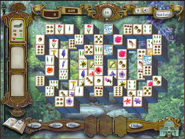 play free online butterfly mahjong game