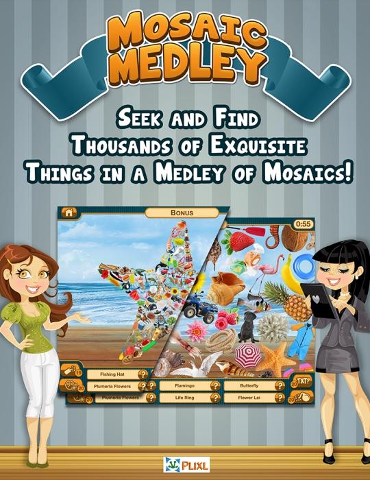 Mosaic Medley Poster